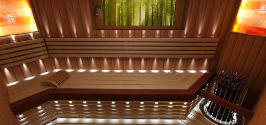 sauna-interjer